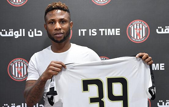 Nigerian Striker Imoh Ezekiel joins UAE. club Al jazira from Belgian side Kortrijk