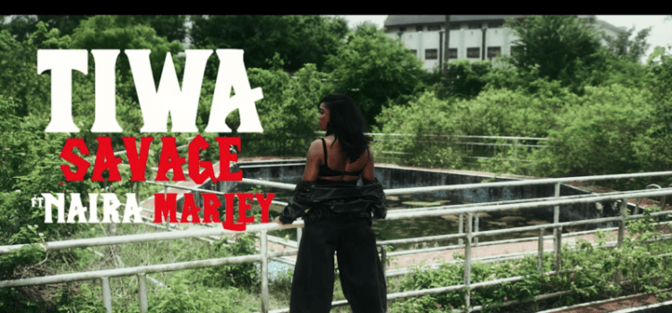 tiwa savage ft naira marley -ole video