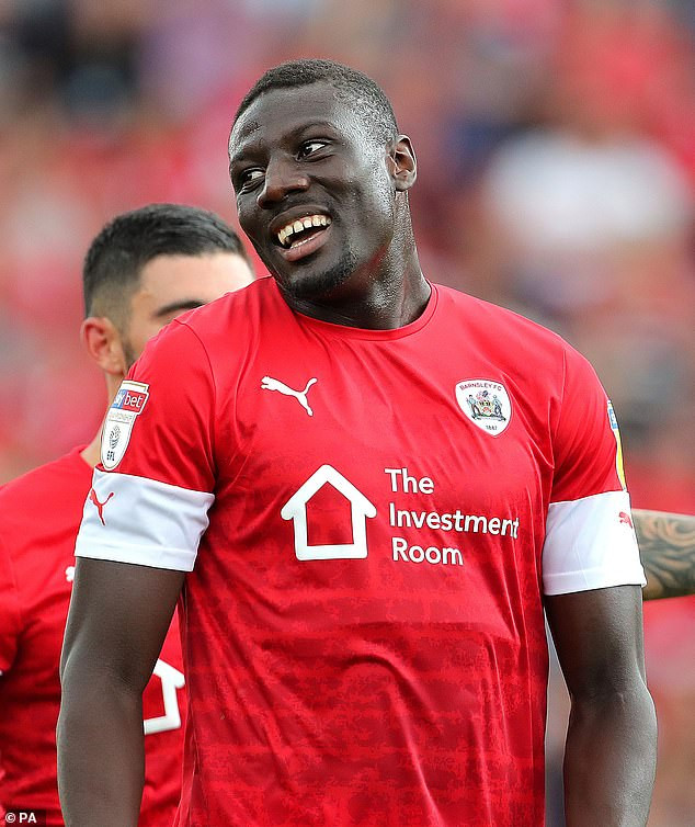 Barnsley defender, Bambo Diaby ban from playing football over hard drug related issues