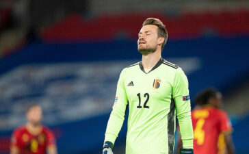 Club Bruges and former Liverpool Goalkeeper Simon Mignolet has tested positive for Coronavirus
