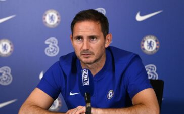 """""""Get Serious or lose a spot"""" Chelsea Coach Frank Lampard fires warning to his players."""