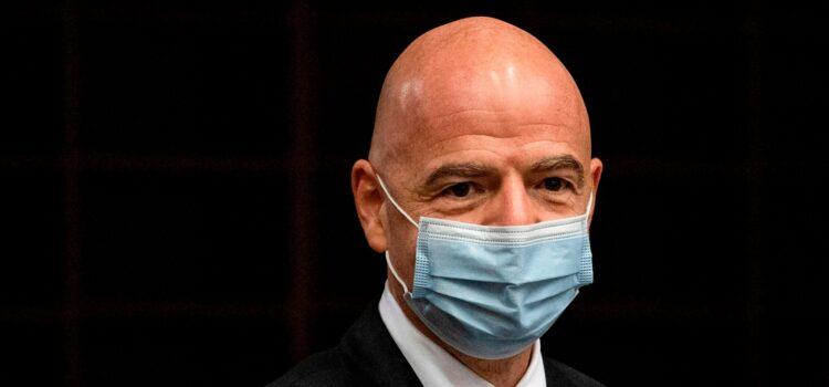 FIFA, President Gianni Infantino have tested positive for coronavirus.