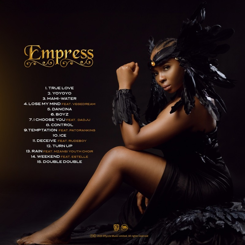Empress Album By Yemi Alade, JotNaija