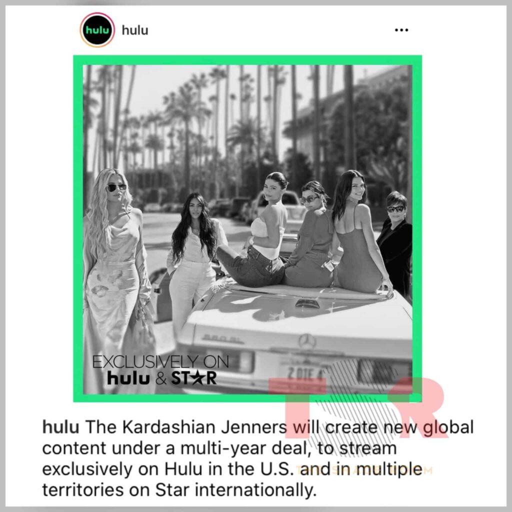 kim kardashian deal with Hulu, JotNaija