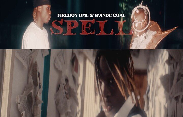 "Fireboy DML Ft. Wande Coal – ""Spell"", JotNaija"